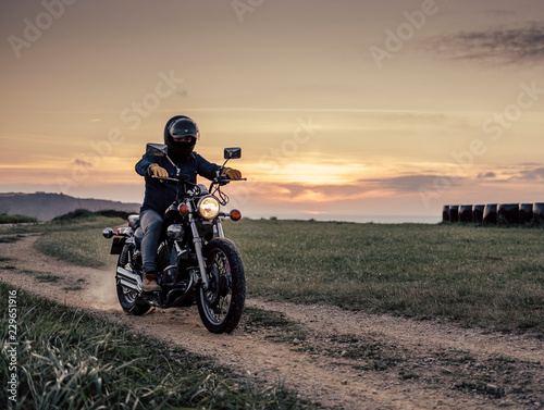 Photo Motorcycle Road Racer