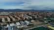 City. Alicante. Spain. Aerials. 4k. Drone