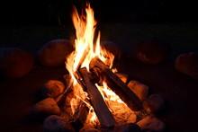 焚き火のぬくもり