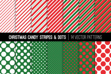 Christmas Candy Cane Stripes A...