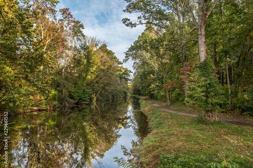Fotografía Delaware Canal Towpath