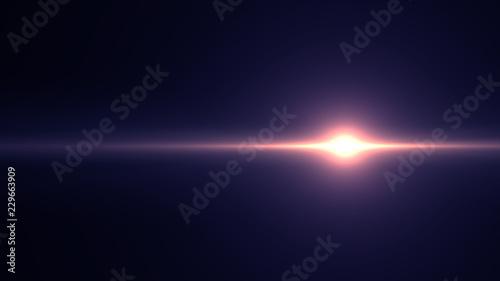 Obraz Lens flare light - fototapety do salonu