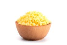 Bowl Of Natural Yellow Beeswax...