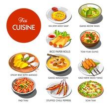 Thai Cuisine Food And Traditio...