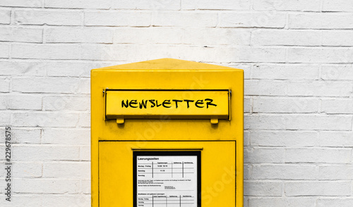 Photo Newsletter Postbox