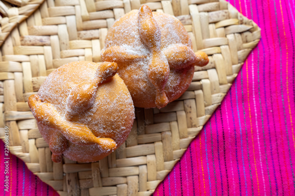 Mexican bread of the dead