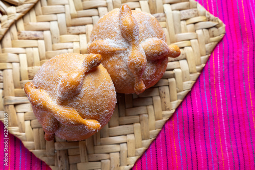 Photo  Mexican bread of the dead