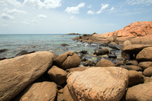 Boulders On Pigeon Island National Park Just Off The Shore Of Nilaveli Beach In Trincomalee Sri Lanka
