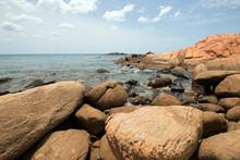 Boulders On Pigeon Island Nati...