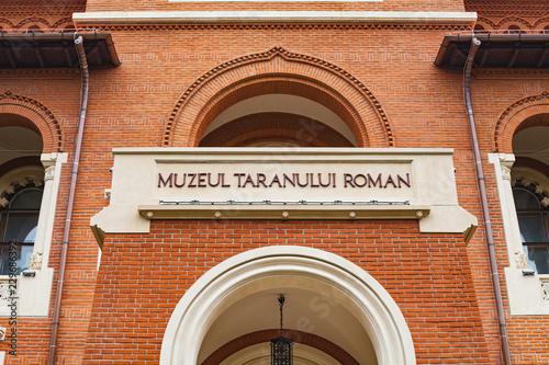 Vászonkép Romanian Peasant Museum