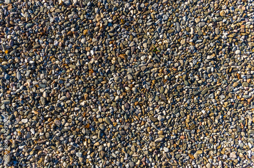 Kies Kieselsteine Als Wegbefestigung Naturlicher