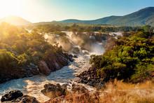Epupa Falls On The Kunene River In Namibia