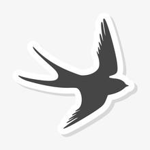 Swallow Sticker, Swallow Logo