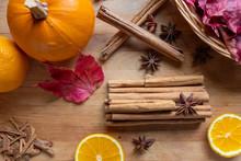 Fall Flavors, Pumpkin, Cinnamon, Orange, Anise