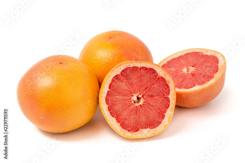 Rotfleischige Grapefruit