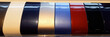 canvas print picture - color paint chart to choose color hue of his car