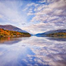 Autumn, Loch Lochy, Highland, Scotland.