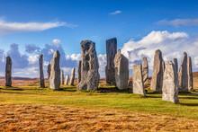 Stone Circle At Callanish, Isle Of Lewis, Western Isles, Outer Hebrides, Scotland, UK