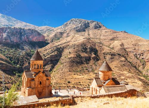 The medieval monastery of Noravank in Armenia Canvas Print