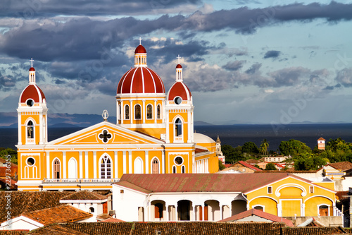 Photo  Cathedral in Granada, Nicaragua