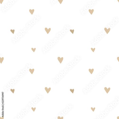 Tapety do pokoju dziewczynki wzor-recznie-rysowane-bezowe-serca