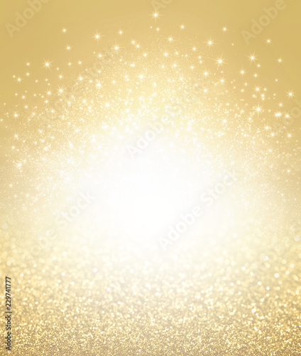 Glitter gold textured background