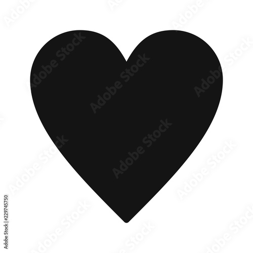 Fotografie, Obraz  Favourite Basic UI Glyph