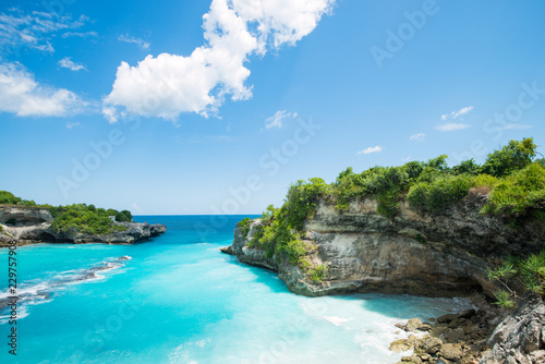 Cadres-photo bureau Bali blue bay lagoon near Bali in Indonesia, Nusa Penida