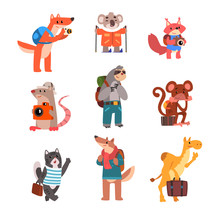 Cute Animals Traveling Set, Wi...