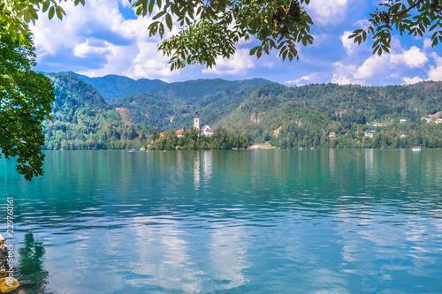 Lake of Bled Slovenia