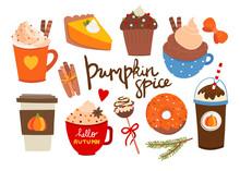 Pumpkin Spice. Various Tasty S...