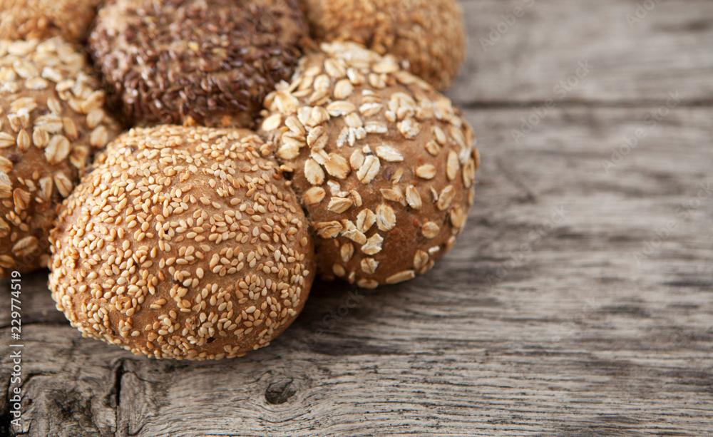pain céréales bio campagnard
