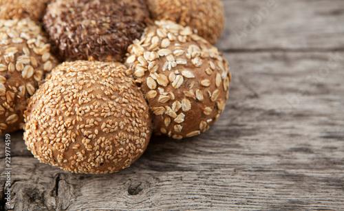Obraz na płótnie pain céréales bio campagnard