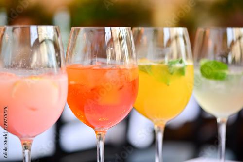 Obraz na plátne cocktail line