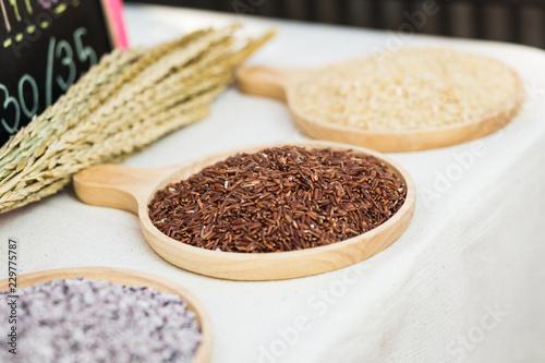 Fotografía  Brown rice