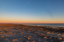 Sunset At Bombay Beach, At The...