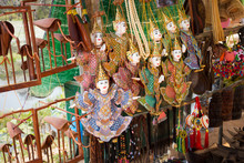 Sale Of Traditional Souvenirs ...