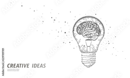 Fotografie, Obraz Human brain IQ smart business concept