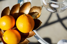 A Platter Of Oranges