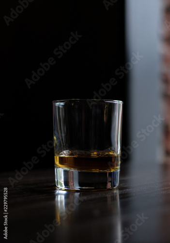 Tuinposter Alcohol glass of whiskey