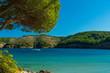 Der Strand von Montgo an der Costa Brava bei Girona
