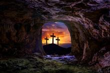 Jesus Resurrection Sepulcher Grave Cross