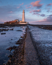 St Marys Lighthouse On The Nor...