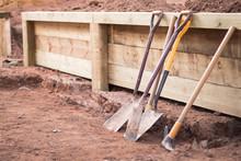 Garden Tools, Retaining Wall