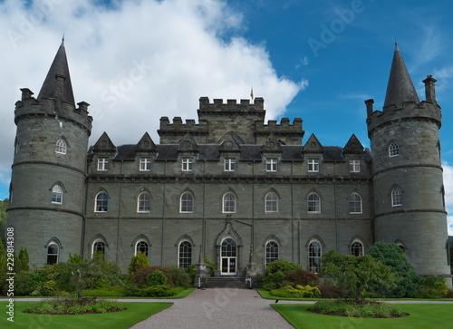 Inveraray Castle Canvas Print