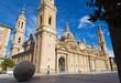 Zaragoza - The Basilica del Pilar church.