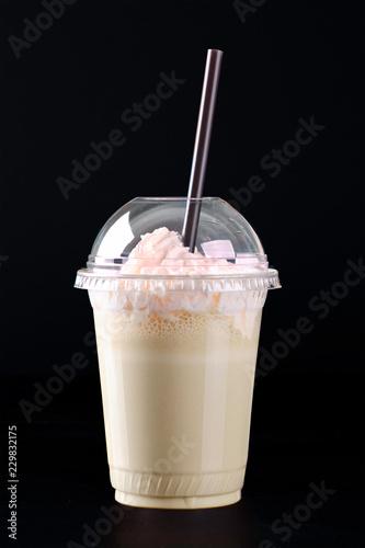 Milkshake with whipped cream
