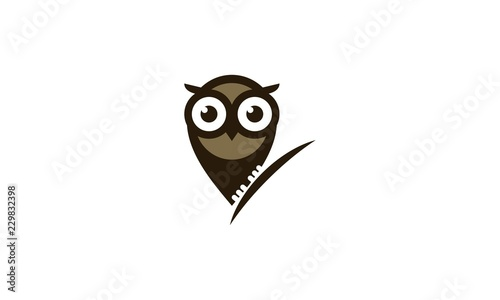 Photo Stands owl