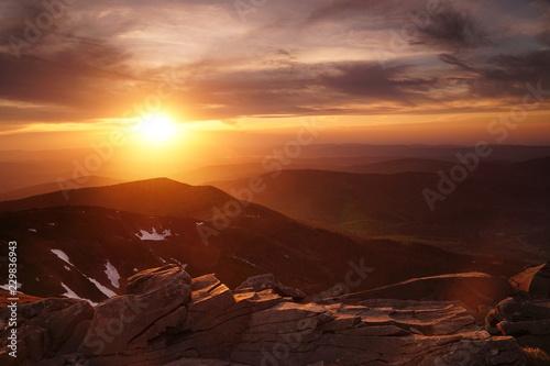 Zachód Babia Góra