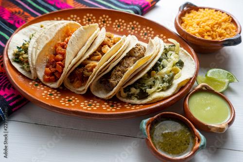 "Mexican stew tacos ""guisados"""